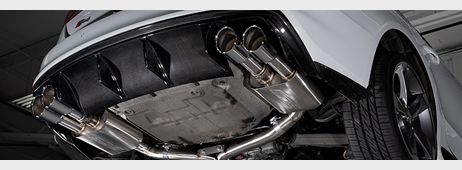 Audi B8 S4 Valved Exhaust