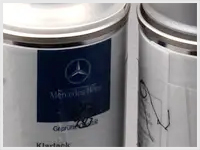 Mercedes Benz Touch-Up Paint